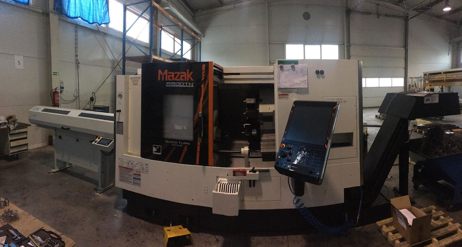 QUICK TURN 200MB - SMOOTH G, MAZAK